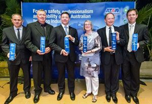 image: Australia safety trucking freight awards hauling