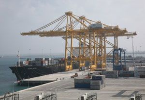 image: INDIA Denmark container terminal corruption shipping executives cartel TEU handling Maersk APM
