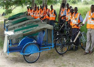 image: Transaid Comic Relief Zambia Nigeria freight logistics maternal health services