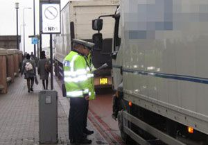 image: UK freight road haulage transport operators tachograph licence owner driver self-employed