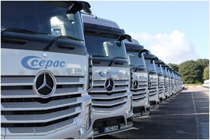 image: UK Woodland road haulage contract freight forwarding group packaging Cepac