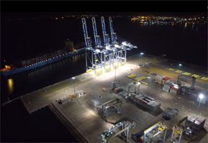 image: DP World Turkey freight container terminal Erdogan Yarimca