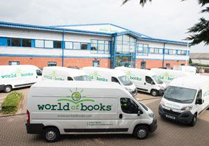 image: UK World of Books TOM commercial vehicle hire logistics road haulage fleet Citroen Relay 35 Enterprise L3 H2 HDI 130ps van