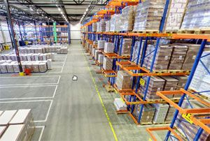 image: Venlo Netherlands DSV freight logistics health safety warehouse award