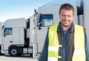 image: UK ex forces personnel road haulage HGV drivers scheme US help for heroes road to logistics