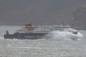 image: CalMac UK Caledonian MacBrayne RoRo ferries freight cargo logistics