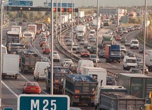 image: UK freight transport M25 Smart Motorway accidents prosecutions hard shoulder