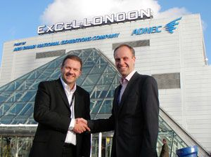 image: ExCeL London exhibition freight conference logistics handling equipment