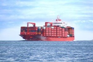 image: TEU FEU freight shipping container refrigerated cargo