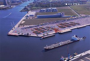 image: Belgium Ghent I-Motion Shipping UK short sea container service ABP Port of Hull