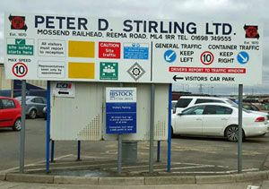 image: UK rail freight terminal international Scottish Court of Session Ministers Green Belt intermodal logistics