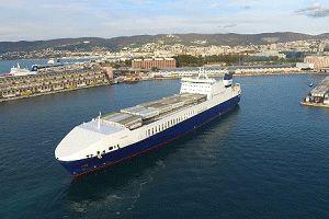 image: Italy Turkey logistics RoRo cargo freight port Trieste intermodal terminal