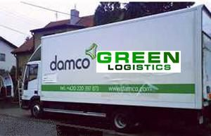 image: Damco green supply chain freight forwarder logistics container line cargo
