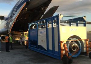 image: Volga-Dnepr Suez Panama Canal heavy lift project air freight power station