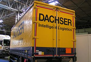 image: UK Dachser Brexit driver accompanied trailers freight logistics Multimodal Nick Lowe intermodal