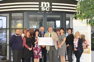 image: MSC Mediterranean Shipping Company Alzheimer�s Society Charity