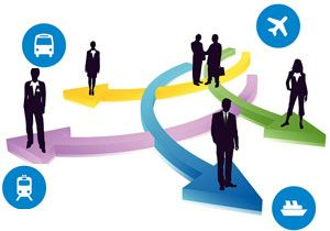 image: UK US freight logistics staff changes industry veteran air cargo FCILT Brittin TIACA
