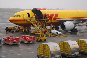 image: Deutsche Post DHL freight logistics collective bargaining ITF