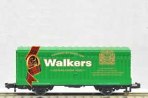 image: Scotland UK Walkers shortbread Port of Liverpool Mossend Glasgow cargo shipping container freight rail link