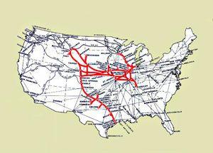 image: BNSF US rail freight cargo passenger