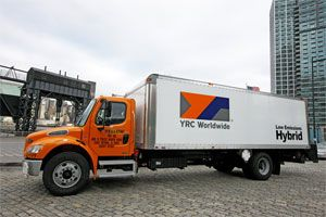 image: American Trucking Association US truck freight Teamsters YRC Hoffa