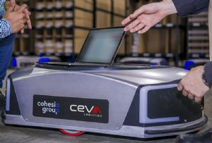 image: Australia robots CEVA logistics freight remote disease virus