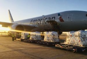 image: Virgin Atlantic Cargo American Airlines freight virus