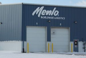 image: Menlo Con-way logistics shipping China warehousing transport