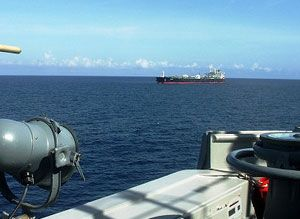 image: Somalia Salalah pirate ransom supertanker chemical tanker EU Navfor