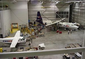 image: Fedex Express US Mountain Air Cargo freight carrier FAA