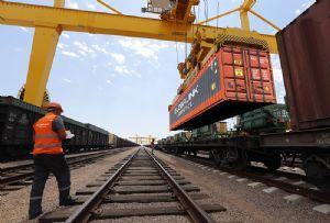 image: Mongolia, Latvia, hub, multimodal, rail, freight, Globalink, Logistics, Kerry,