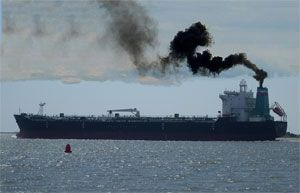 image: UK EU multi modal transport export import shipping container freight forwarder cargo emissions pollution