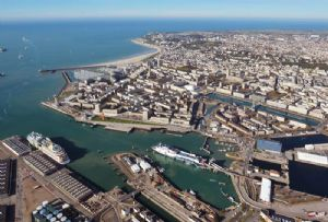 image: Le Havre, France, Taiwan, Yang Ming, logistics, container, line, ships, NAXCO,