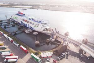 image: Stena, Line, freight, ferries, RoRo, Belfast, Liverpool, linkspan,