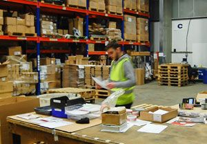 image: Walker logistics freight sector pick and pack fulfilment