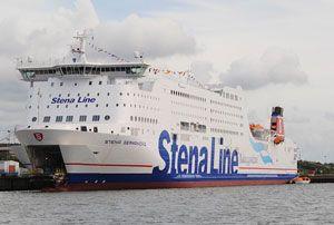 image: Stena Line RoRo freight ferry sulphur methanol Marpol emission fuel