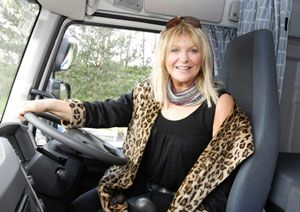 image: UK BIFA freight forwarding awards Sally Boazman BBC2 Truckfest