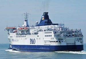 image: UK cross Channel RoRo freight ferries sulphur regulations rates scrubbers methane LNG P&O