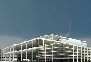 image: UK logistics facility freight deliveries heart of London Docklands Gazeley hub Silvertown