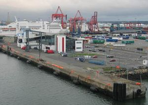 image: Irish Marine Development Office bulk freight container shipping cargo export import