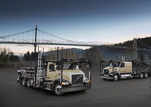image: Volvo American trucking safety road freight truck award