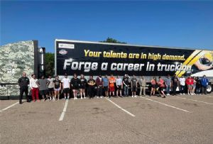 image: US, Europe, UK, HGV, professional, driver, truck, road, haulage,