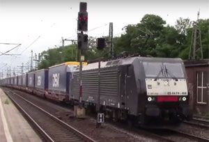 image: Europe Deutsche Bahn rail freight Lord Tony Berkeley Schenker cargo