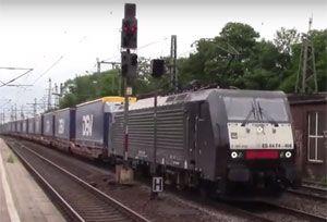 image: Europe Deutsche Bahn rail freight Lord Tony Berkeley Schenker cargo