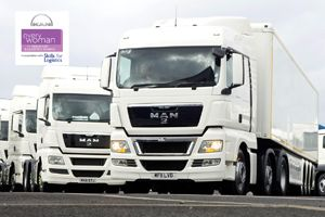 image: MAN everywoman in Transport & Logistics Awards freight driver supply chain