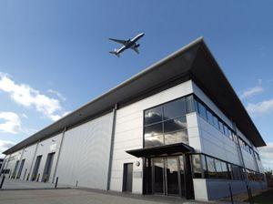 image: St Albans inter modal rail freight terminal Helioslough Segro
