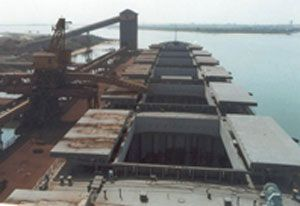 image: India port RoRo cargoes Bulk oil infrastructure terminal