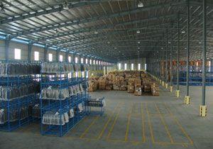 image: Cambodia Maersk logistics Damco freight forwarding warehouse loading bays bar coding trucking
