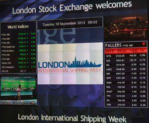 image: London International Shipping Week environmental problems green shipping WISTA UK debate