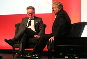 image: UK road haulage Ed Byrne Care after Combat Jim Davidson Richard Burnett RHA
